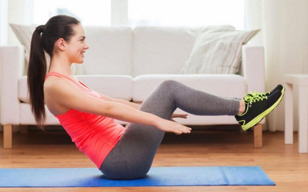 Tabla de ejercicios para hacer en casa y ponerse en forma