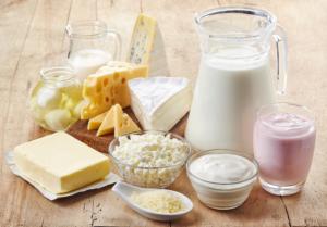 dairy in menopause