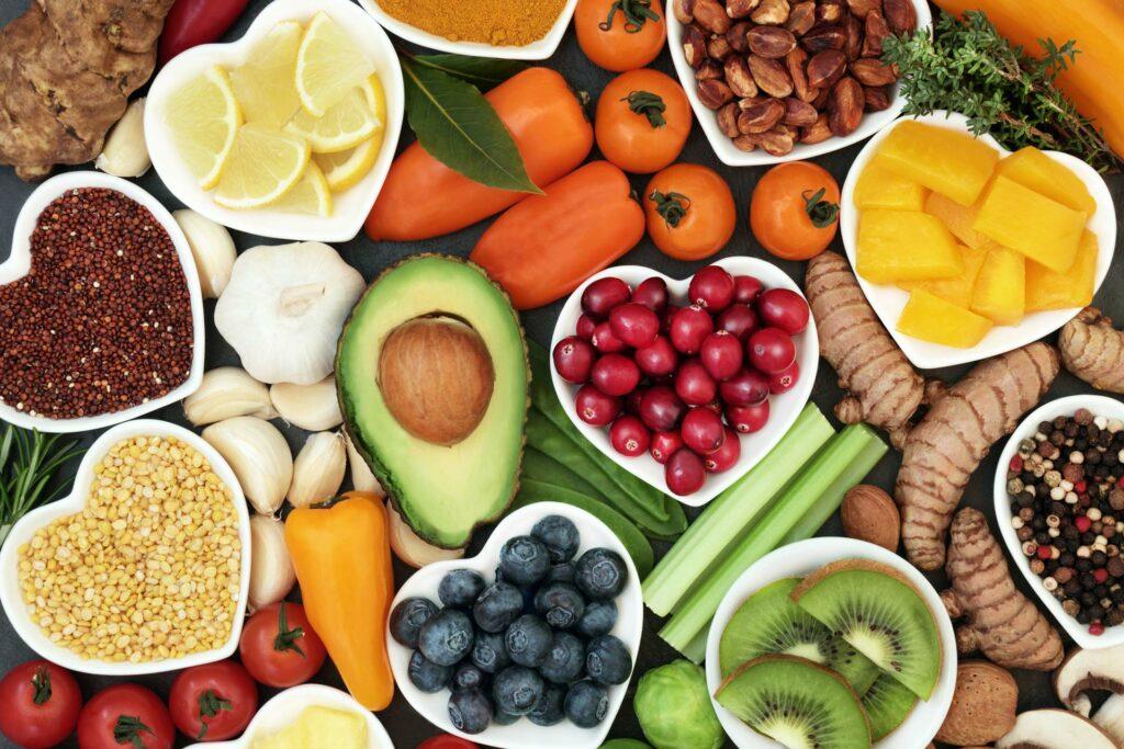 detoxing fruit and vegetables